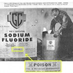 Sodium Fluoride Poison Warning Label