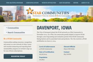 Davenport Iowa Agenda 21