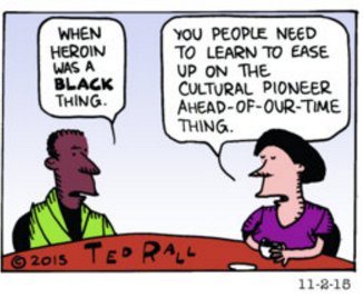 Ted Rall Cartoon at River Cities' Reader