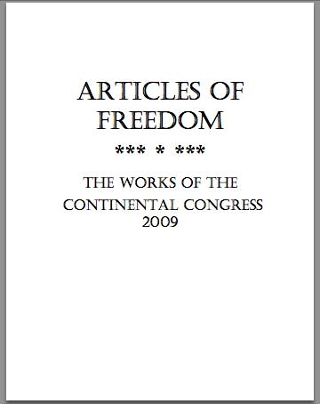 ArticlesOfFreedom.CC2009