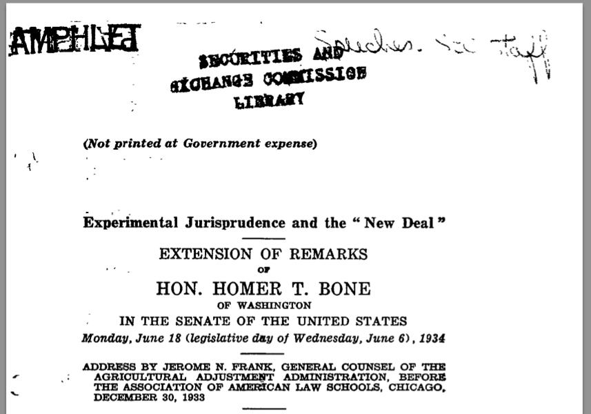 ExperimentalJurisprudence.SEC.CoverPage