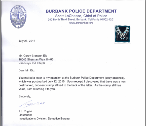 Burbank_2_Cent_Stamp_Return_Letter