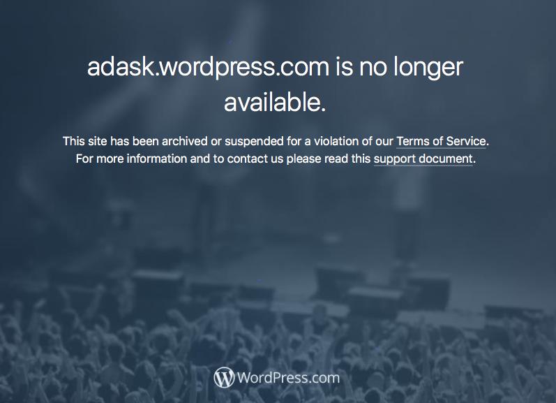 adask.wordpress.com is no longer available