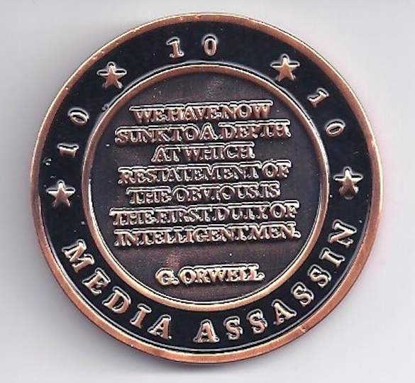 no_agenda_challenge_coin_george_orwell_quote